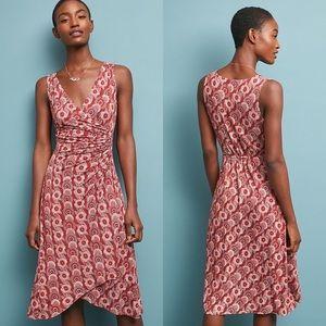NWOT Anthropologie Yvette Ruched Dress